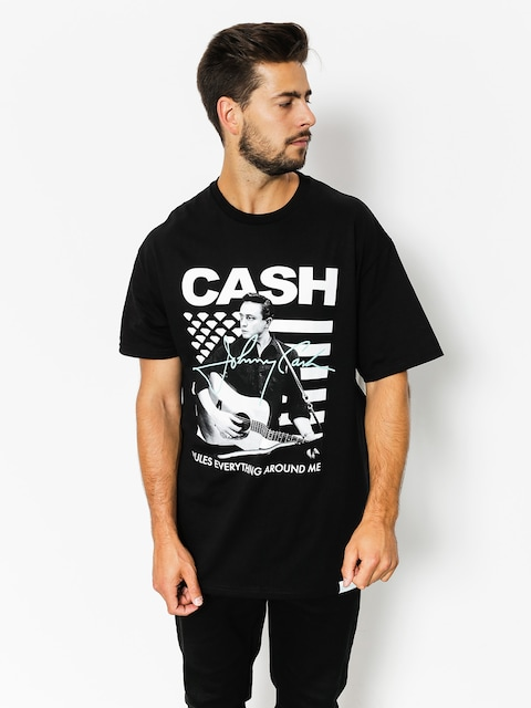 T-shirt Diamond Supply Co. Cash Rules (black)