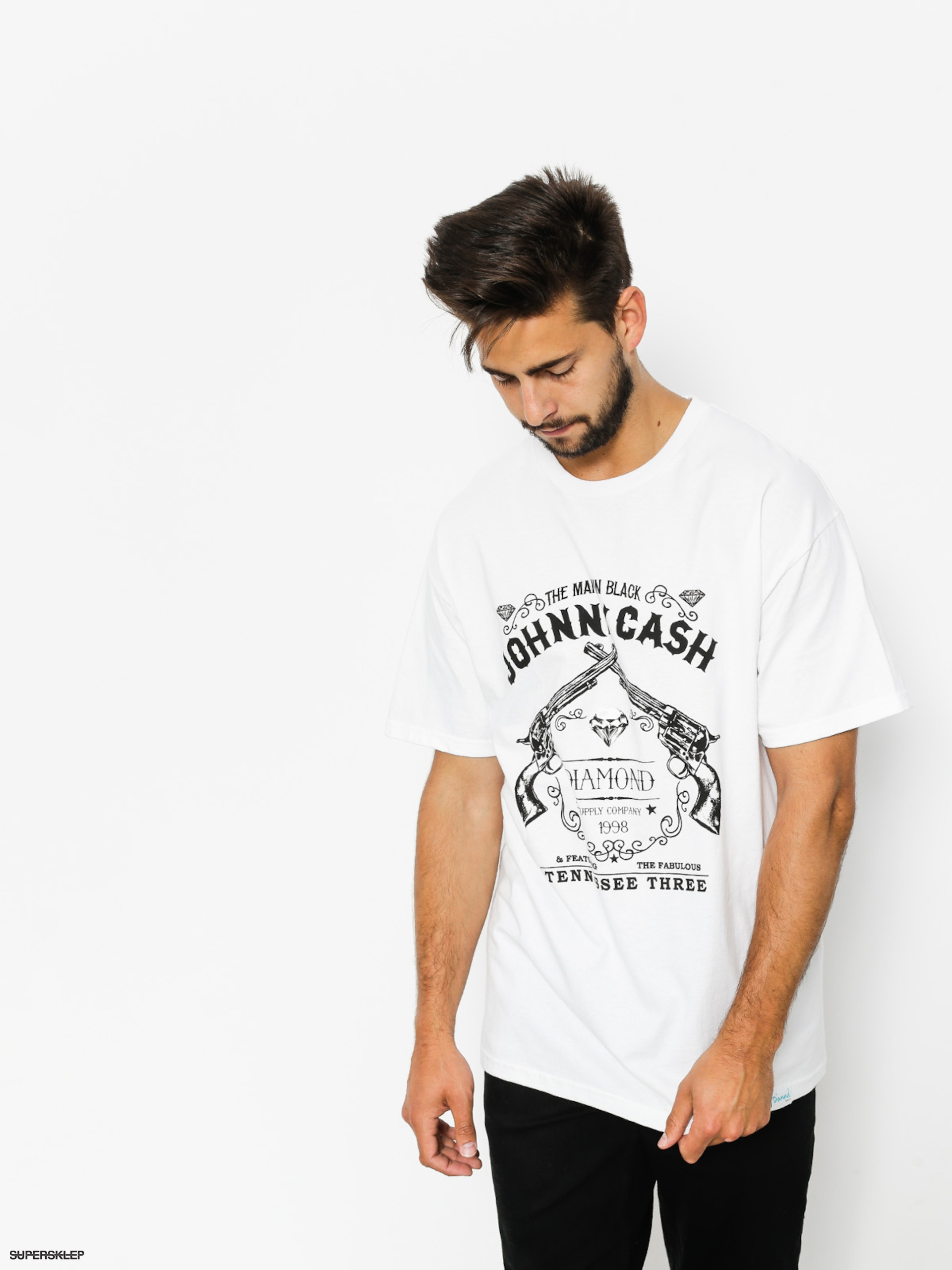 T-shirt Diamond Supply Co. Tennessee Three (white)