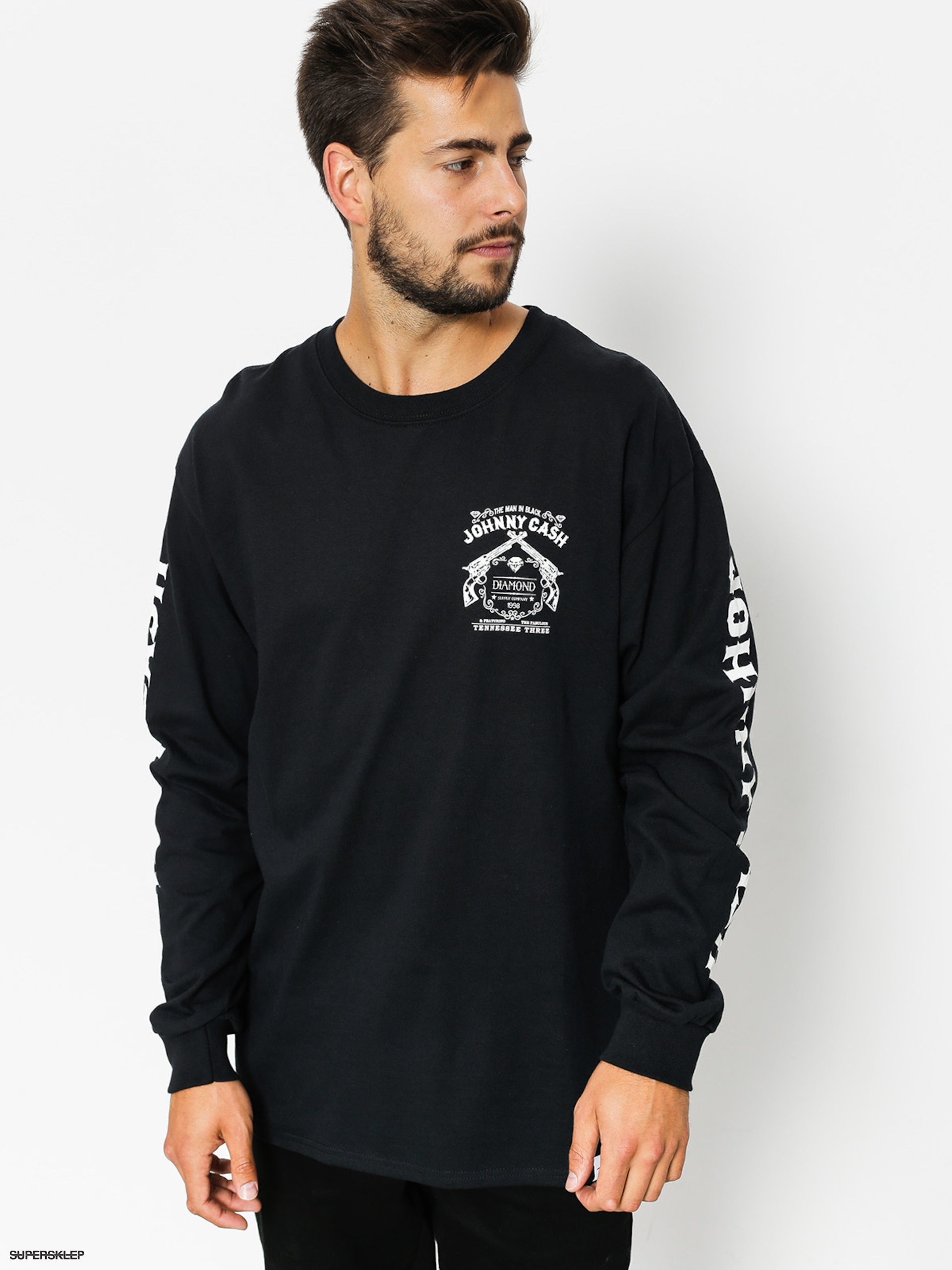 Longsleeve Diamond Supply Co. Tennesee Three (black)