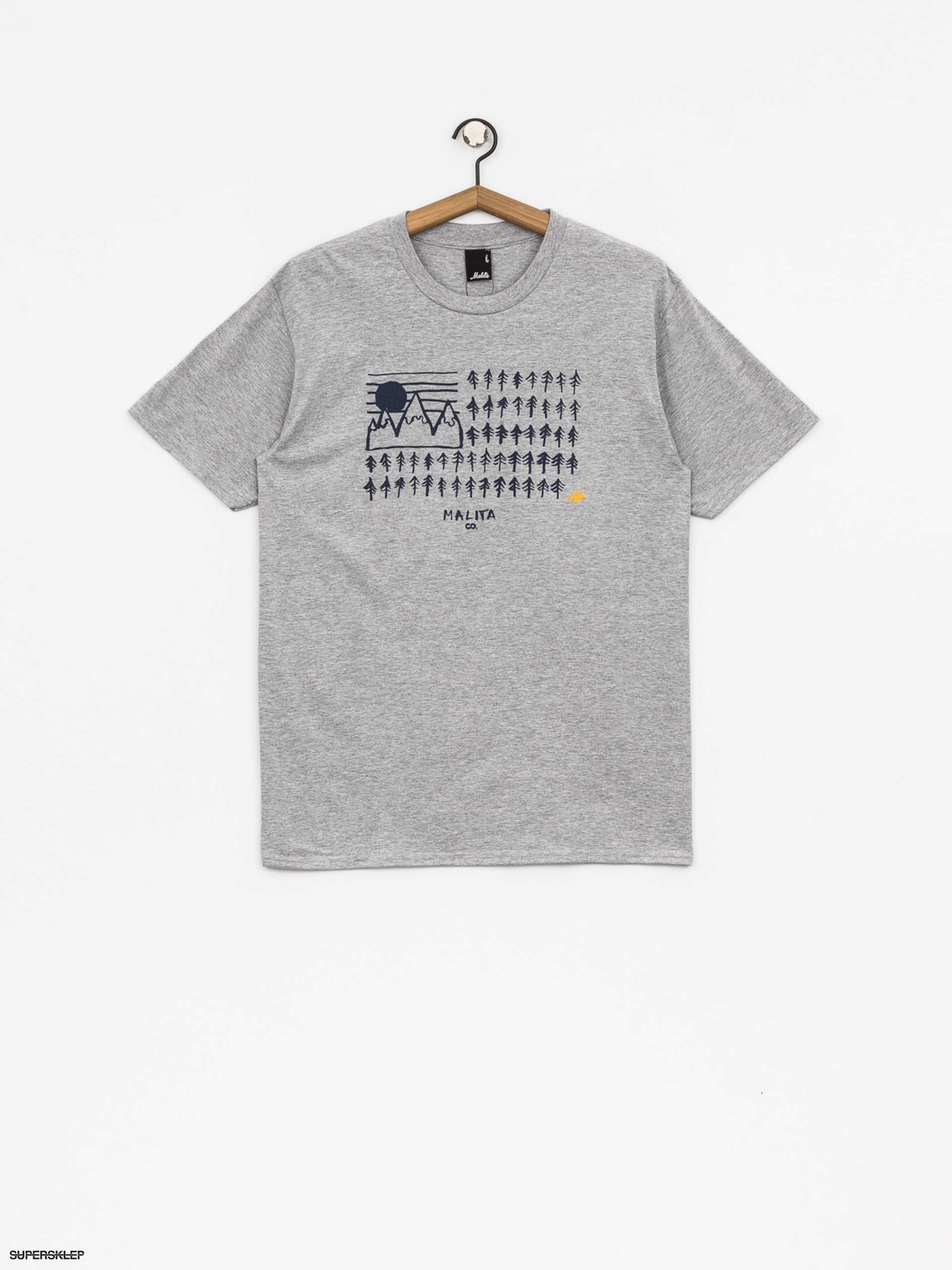 T-shirt Malita Flag (heather grey)