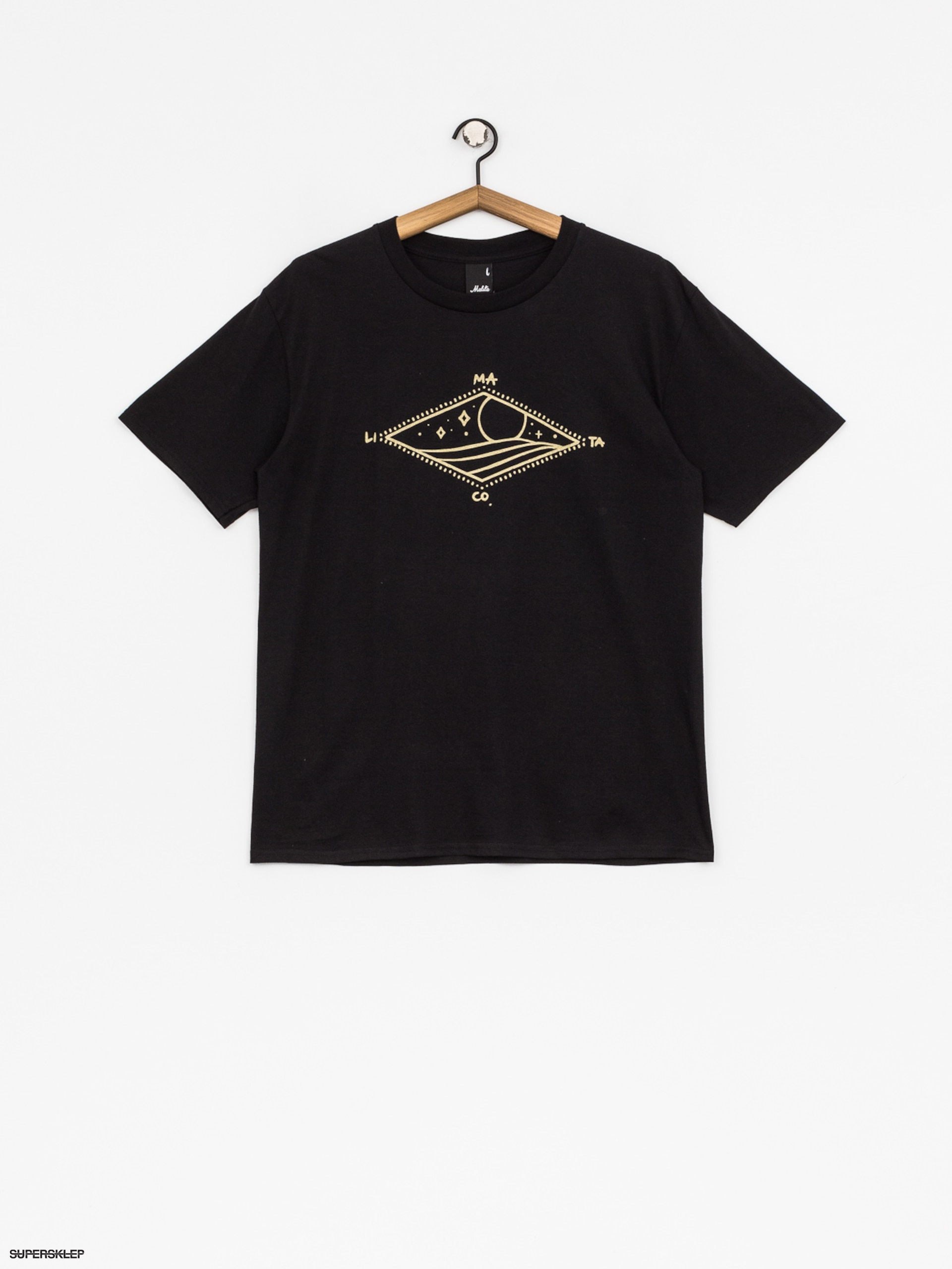 T-shirt Malita Diamond (black)