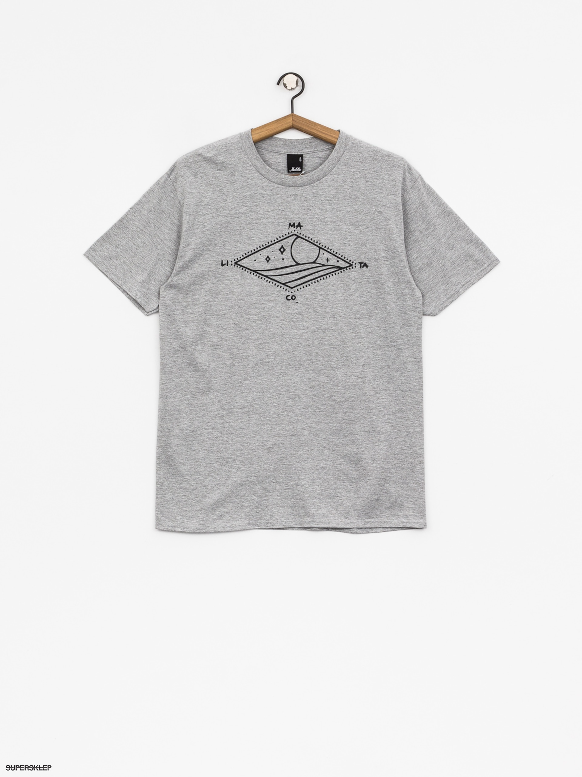 T-shirt Malita Diamond (heather grey)