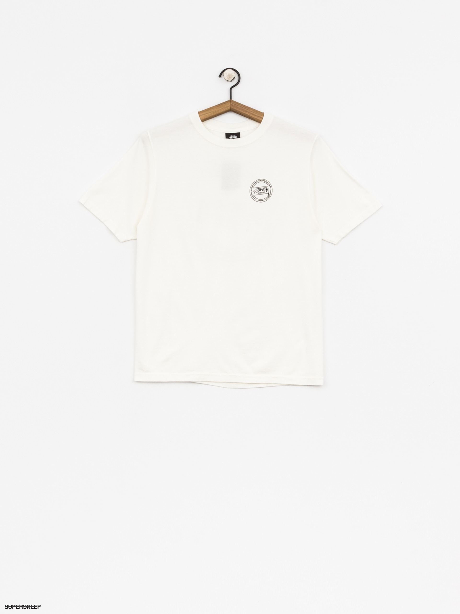 T-shirt Stussy Laguna Dot Pig Dyed Wmn (natural)
