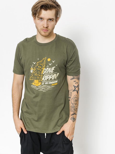 T-shirt Dakine Gone Rippin (army)