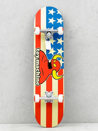 Deskorolka Toy Machine American Monster (white/red/blue)