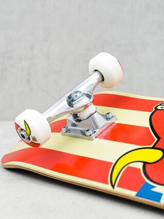 Deskorolka Toy Machine American Monster (white/red/blue)
