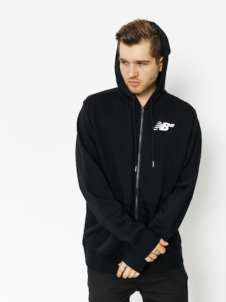 Bluza New Balance Fleece Zip Up (black)