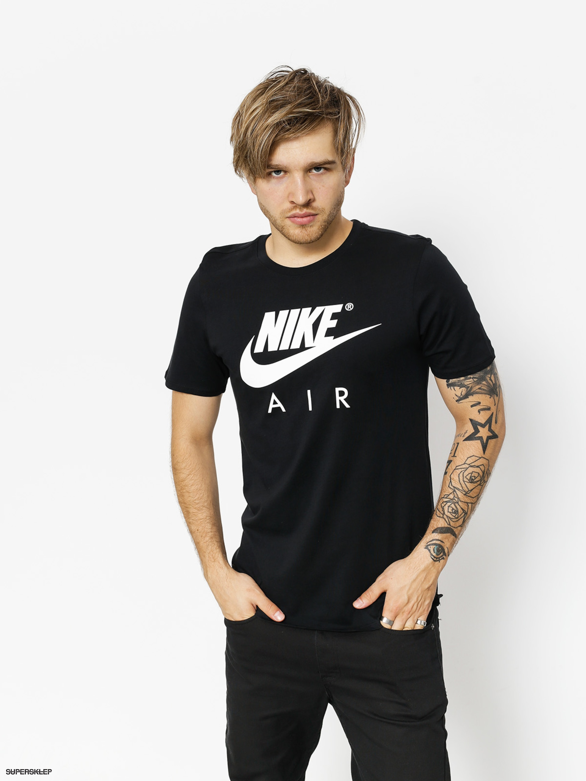 T-shirt Nike Tee Ss Air 3 (black/white)