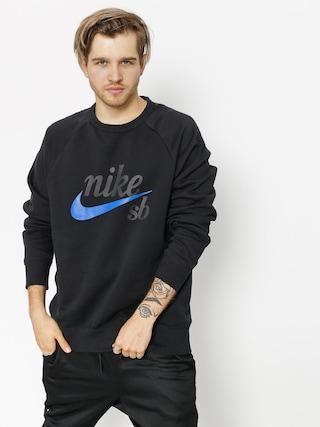 Bluza Nike SB Sb Top Icon Crw Gfx Hrtg (black/hyper royal)