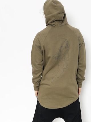 Bluza z kapturem Majesty Wolfshood HD (army green)