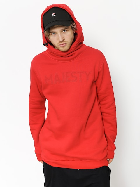 Bluza z kapturem Majesty Vandal Tall HD (red)