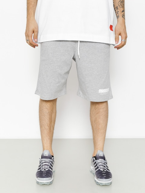 Szorty MassDnm Classics (light heather grey)