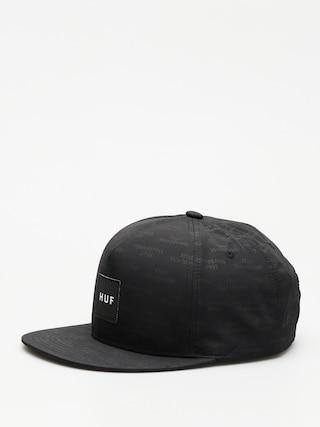 Czapka z daszkiem HUF Box Logo Jacquard ZD (black)