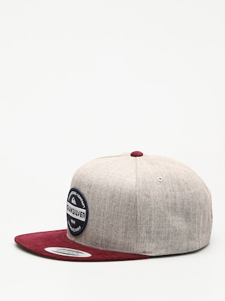 Czapka z daszkiem Quiksilver Firm Chowder ZD (medium grey heather)