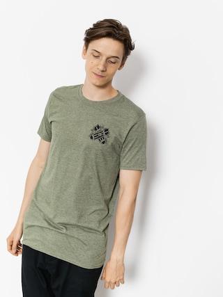 T-shirt Malita Pin Up (heather green)