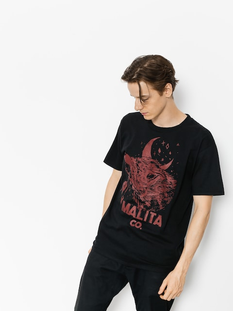 T-shirt Malita Red Wolf (black)
