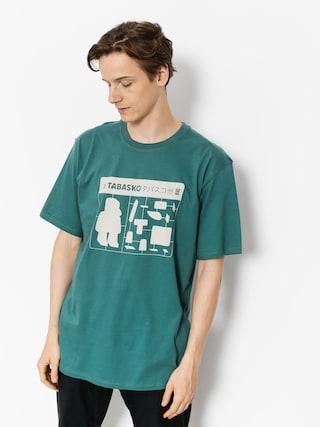 T-shirt Tabasko Jigsaw (turquoise)