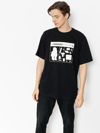 T-shirt Tabasko Jigsaw (black)