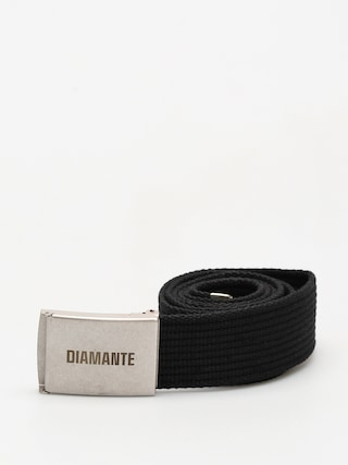 Pasek Diamante Wear Classic (black/silver)
