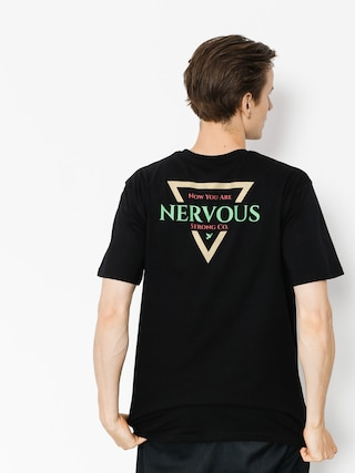 T-shirt Nervous Golden Tri (black)