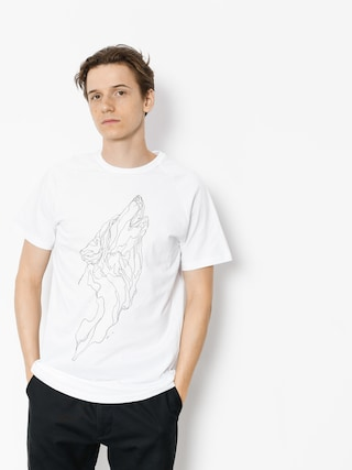 T-shirt Majesty Wolf (white)