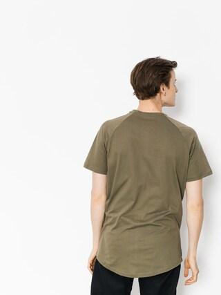 T-shirt Majesty Wolf (army green)