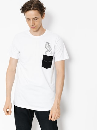 T-shirt Majesty Crow (white)
