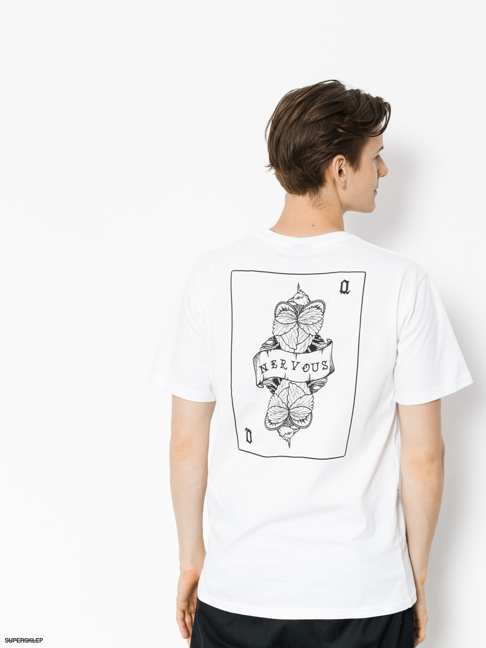T-shirt Nervous Card