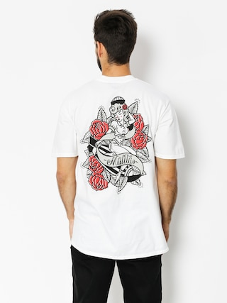T-shirt Malita Pin Up (white)