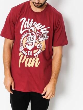 T-shirt Diamante Wear Zdrowie Pań (burgundy)