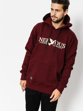 Bluza z kapturem Nervous Classic HD (maroon)