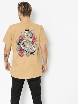 T-shirt Malita Pin Up (beige)