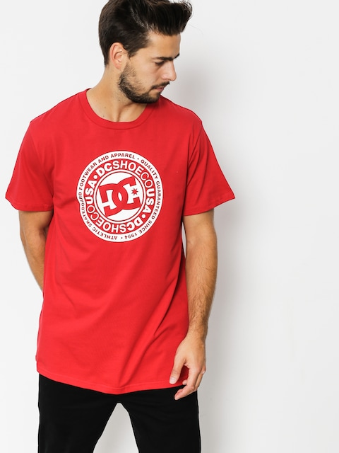 T-shirt DC Circle Star (tango red)