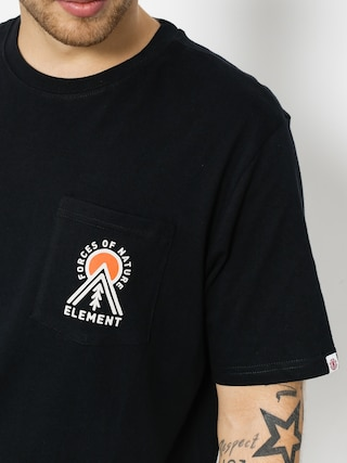 T-shirt Element Above Pocket (flint black)