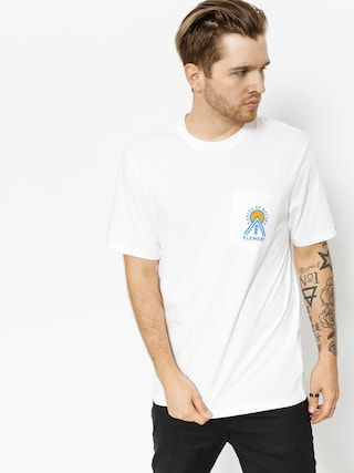 T-shirt Element Above Pocket (optic white)