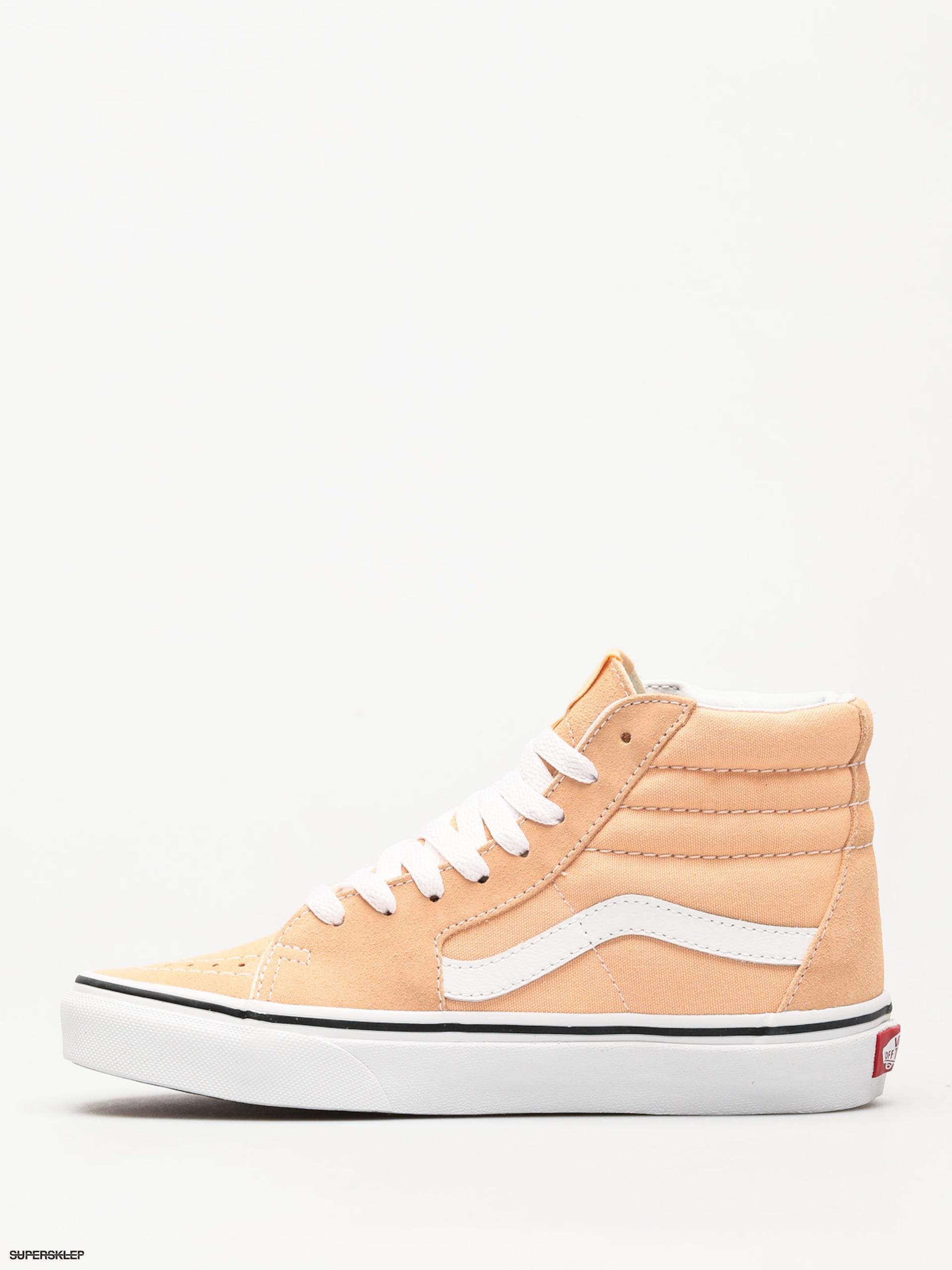 83f4017e45 Buty Vans Sk8 Hi (bleached apricot true white)