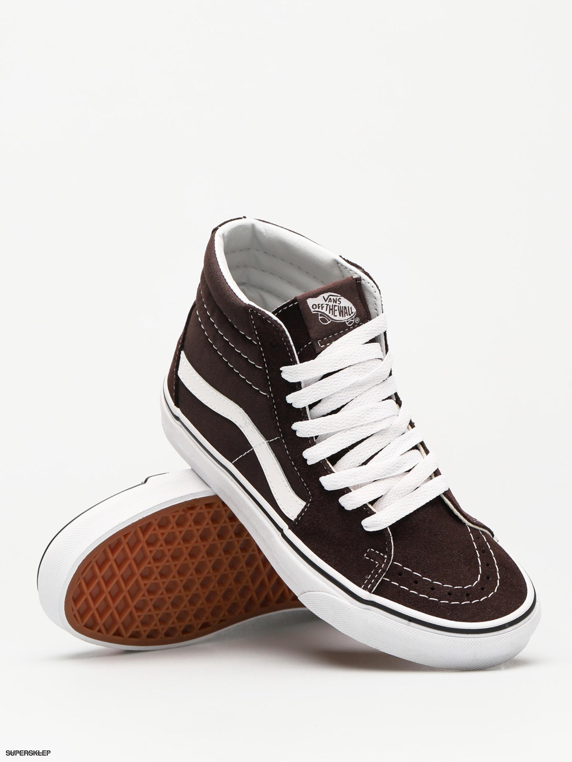 Buty Vans Sk8 Hi (chocolate tortetrue white)