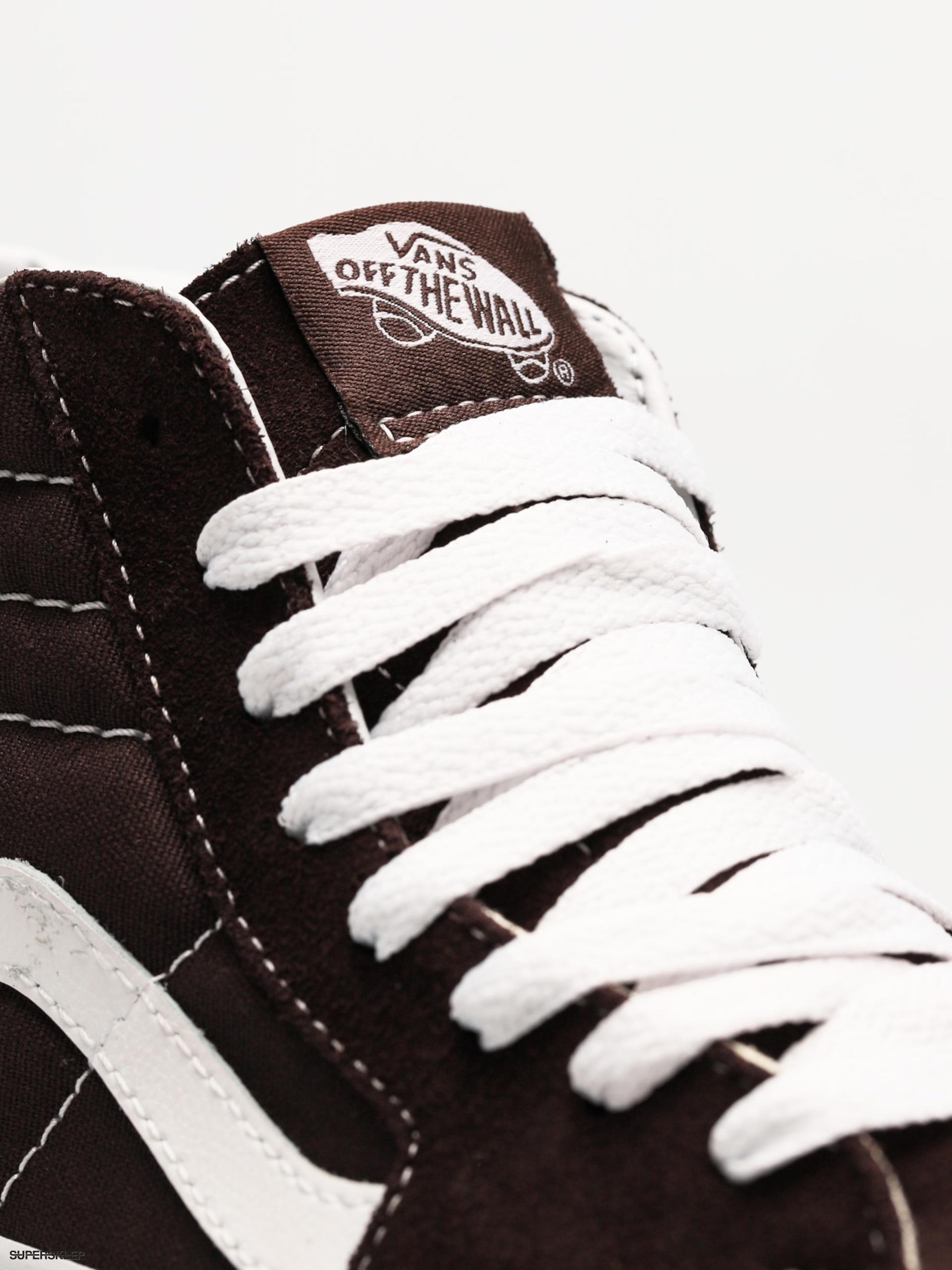 3398b82210b5 Buty Vans Sk8 Hi (chocolate torte true white)