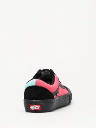 Buty Vans Old Skool Pro (asymmetry black/rose/blue)