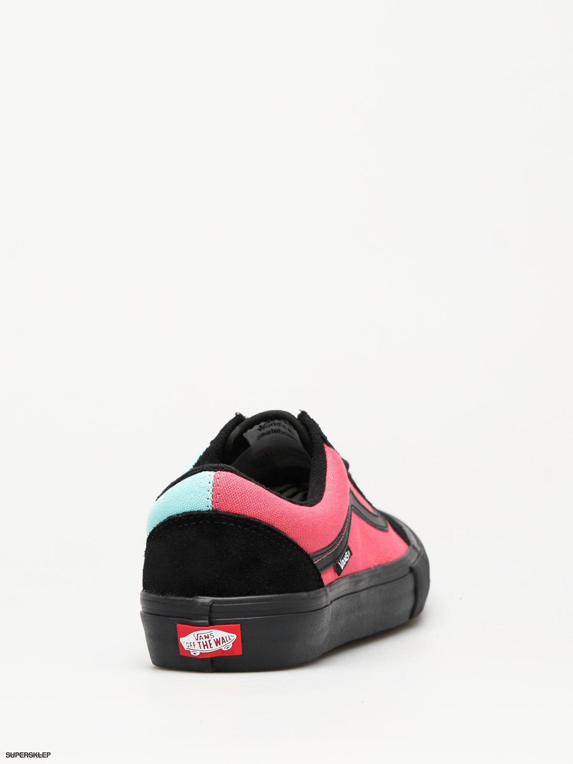 489d459b4f Buty Vans Old Skool Pro (asymmetry black rose blue)