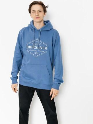 Bluza z kapturem Quiksilver Nowhere North HD (bijou blue)