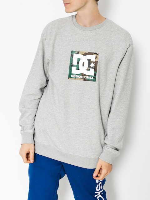 Bluza DC Camo Boxing (grey heather)