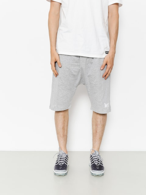 Szorty MassDnm Signature Low Crotch (light heather grey)