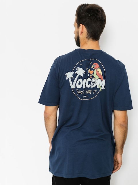 T-shirt Volcom El Loro Loco (nvy)