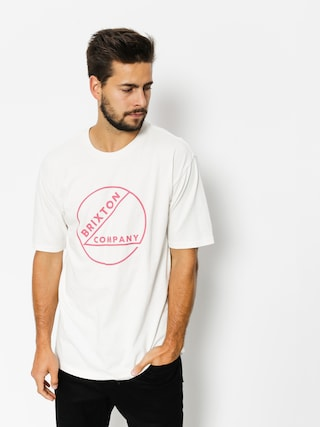 T-shirt Brixton Speck (offwh)