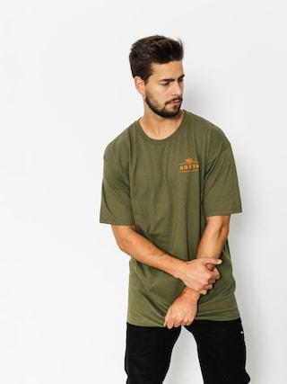T-shirt Brixton Flux (olive)