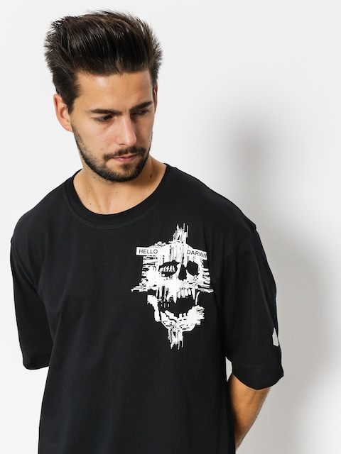 T-shirt Stoprocent Darwin (light black)