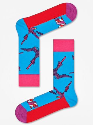 Skarpetki Happy Socks The Beatles (blue/red/purple)