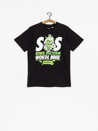 T-shirt Diamante Wear SOS (black)