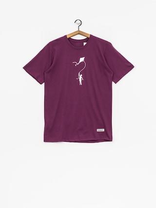 T-shirt Diamante Wear My Life (purple)